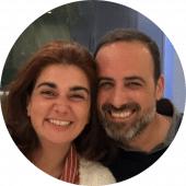 Rita Pires e André Mendonça